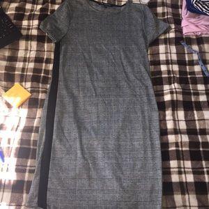 grid (?) dress